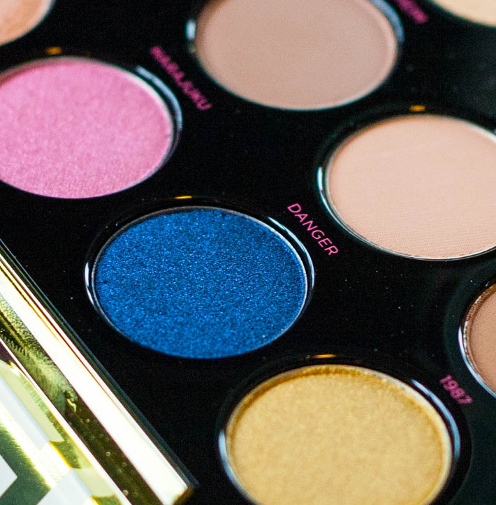 Urban Decay x Gwen Stefani palette swatches and review