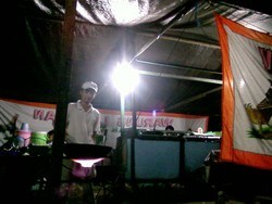 Warung Lalapan di Banjarbaru