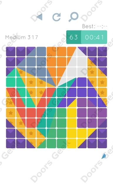 Cheats, Walkthrough for Blocks and Shapes Medium Level 317