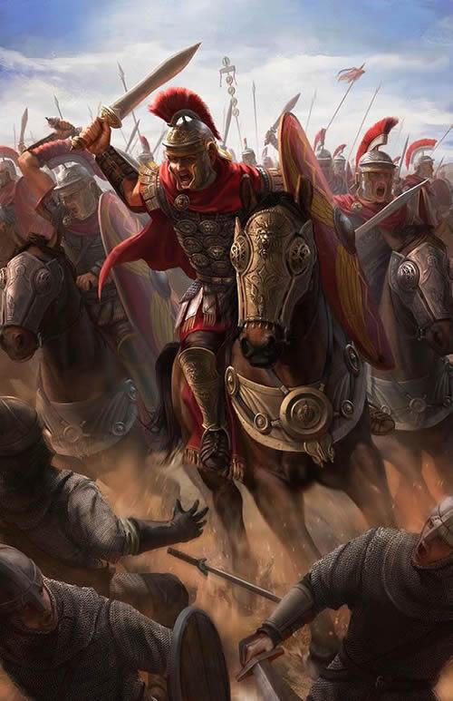 Roman heavy cavalry, equites