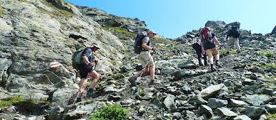 Sous le col Prafleury - 2900 mètres