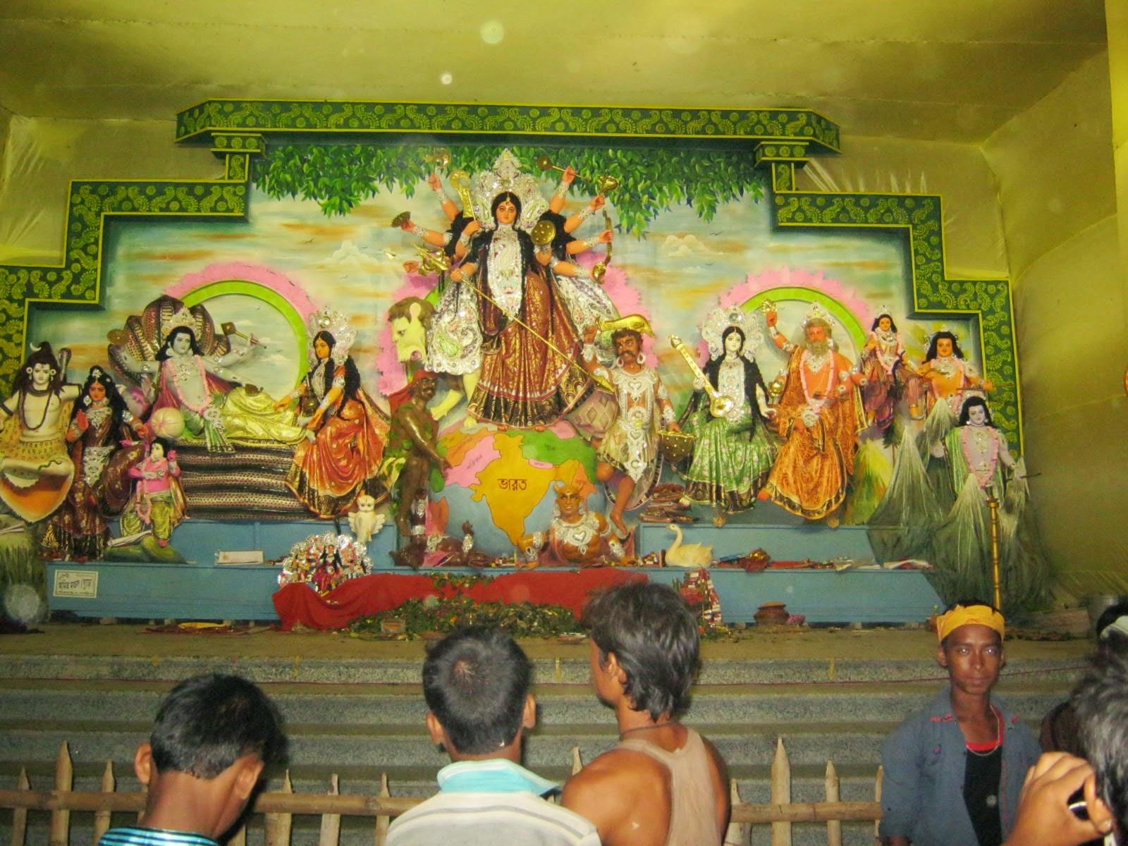 Kaliyaganj Durgapuja