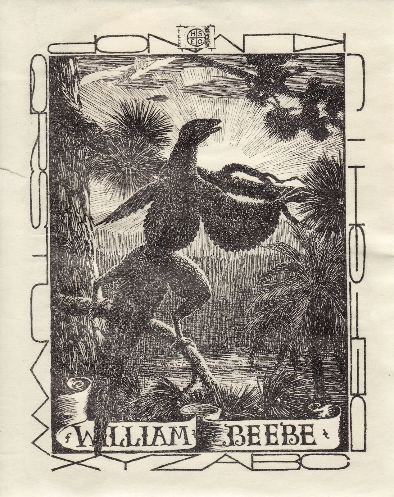 Confessions of a Bookplate Junkie: September 2016