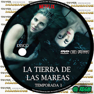 GALLETA TIDELANDS - LA TIERRA DE LAS MAREAS - TEMPORADA 1 2018 [COVER DVD]
