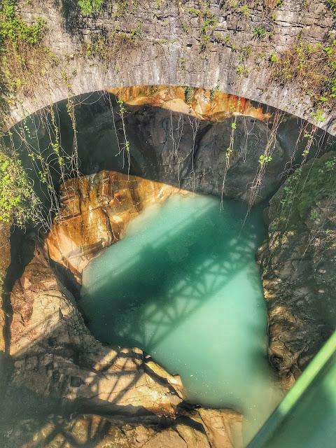 Orrido di Bellano sul lago di Como
