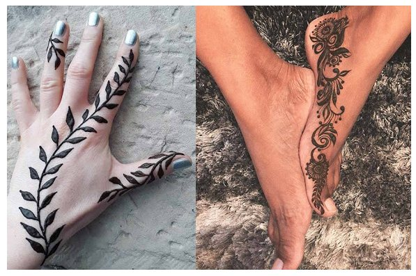 It has been dated back to Ancient Egyptians and become fashionable all over the world ✘ 77 Simple Henna Mehndi Tutorials Designs 2020 That Are Easy to Draw