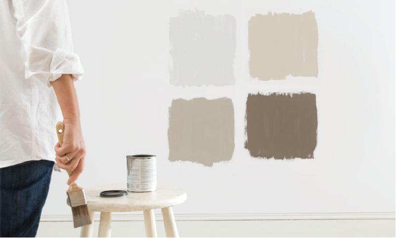 colori naturali parete