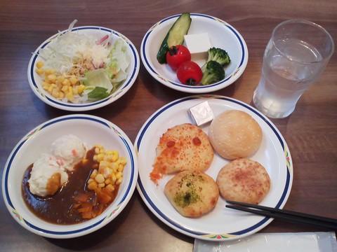 健康サラダバーランチ¥647-2 ステーキガスト一宮尾西店3回目