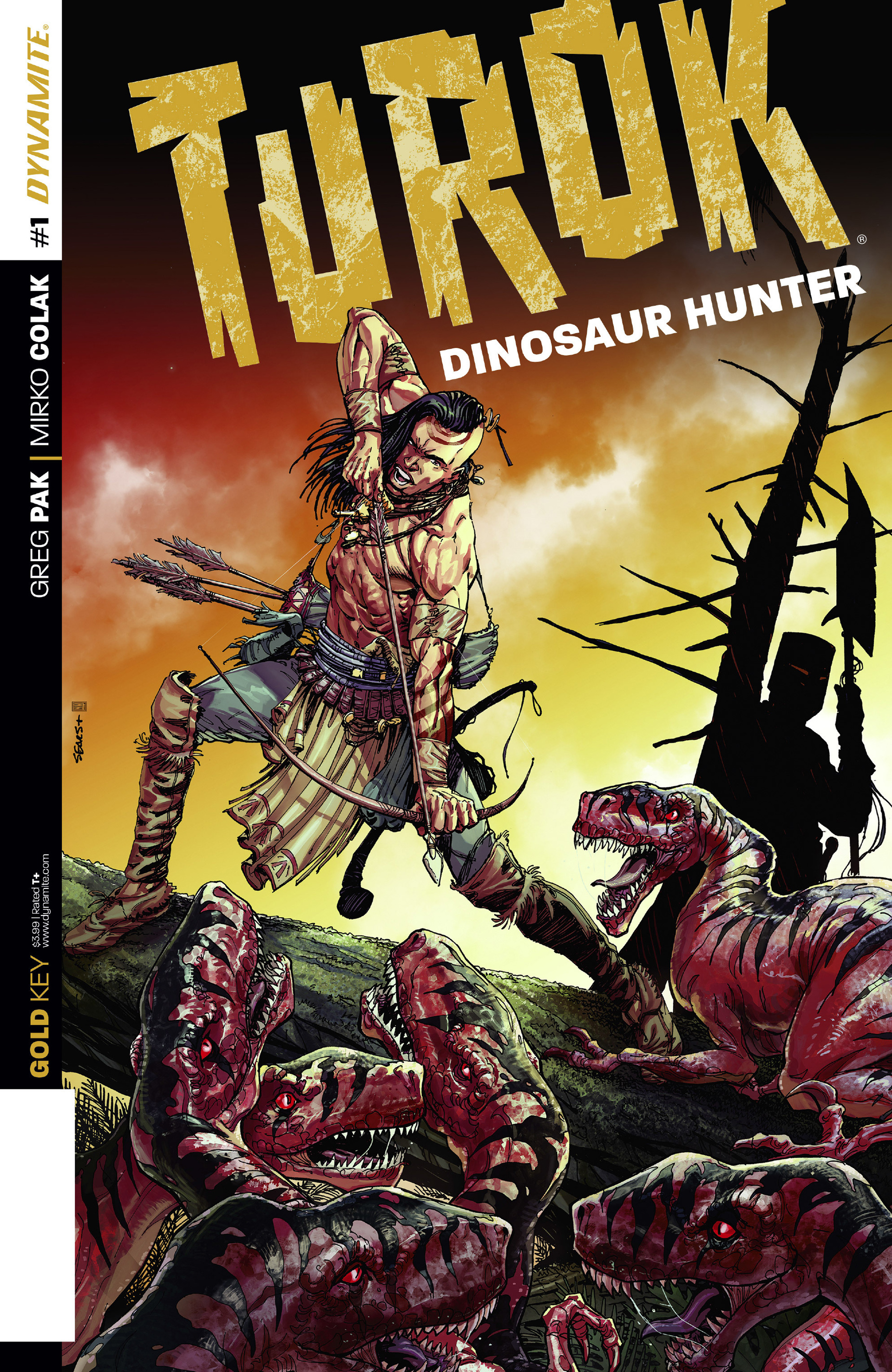 Read online Turok: Dinosaur Hunter (2014) comic -  Issue #1 - 1