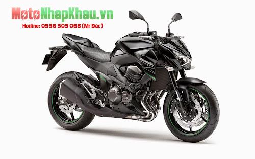 Kawasaki Z800 ABS 2015 màu đen
