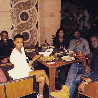 Photos of #BBNaija stars Ceec and Leo on vacation in Kenya