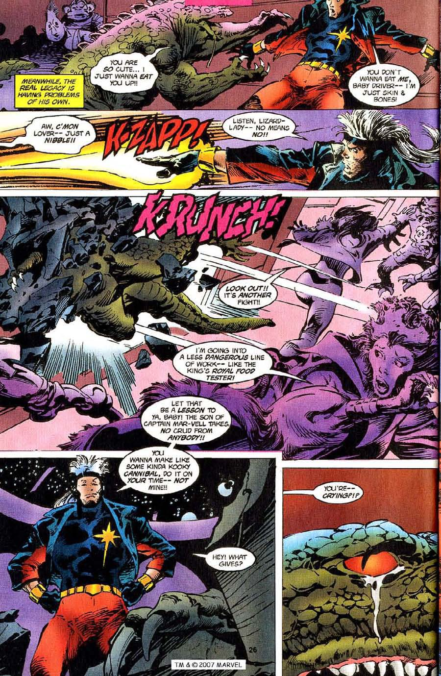 Read online Silver Surfer (1987) comic -  Issue #110 - 28