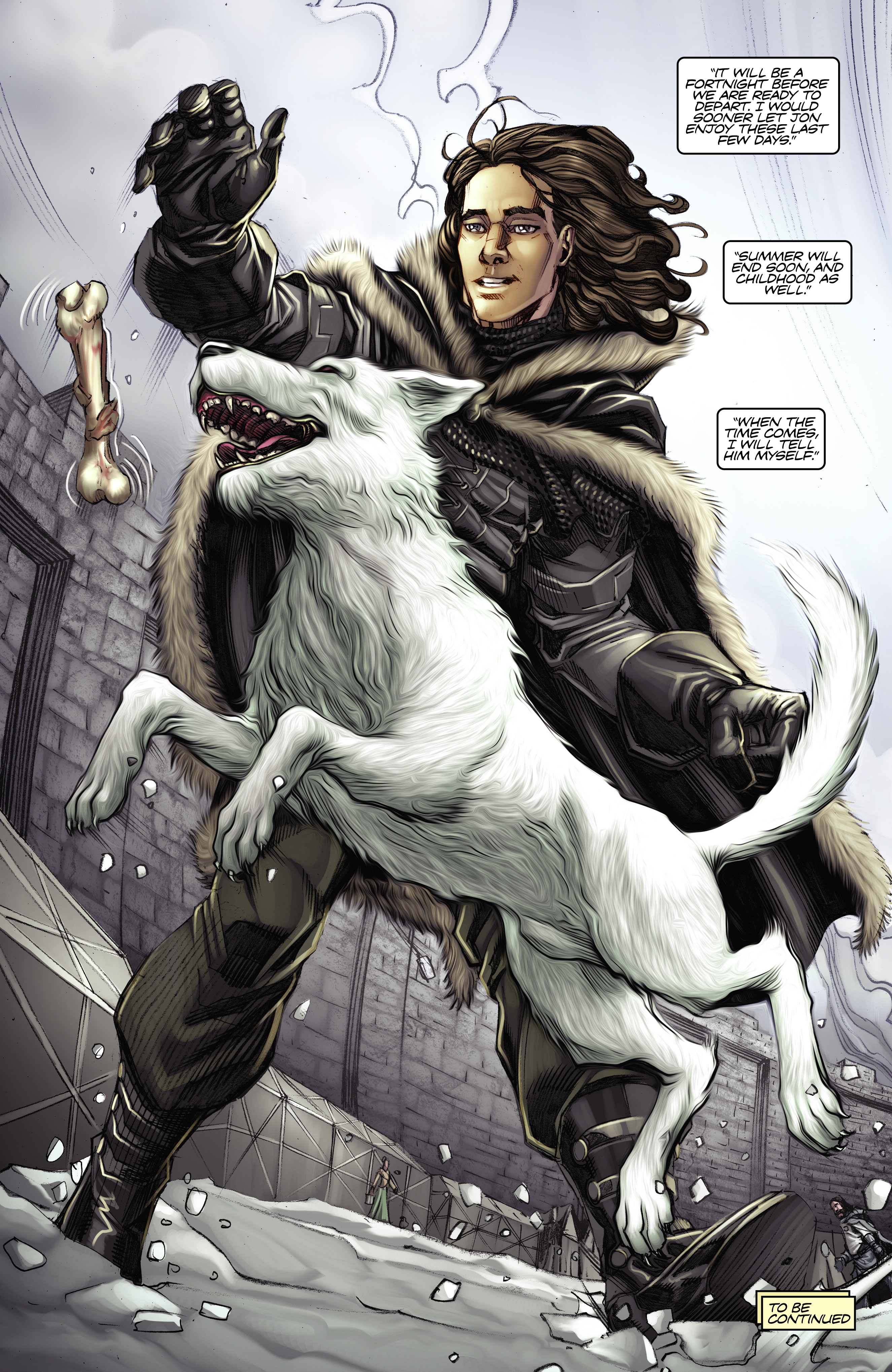 Read online A Game Of Thrones comic -  Issue #2 - 31