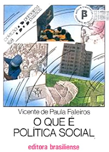 O que é política social Vicente de Paula Faleiros