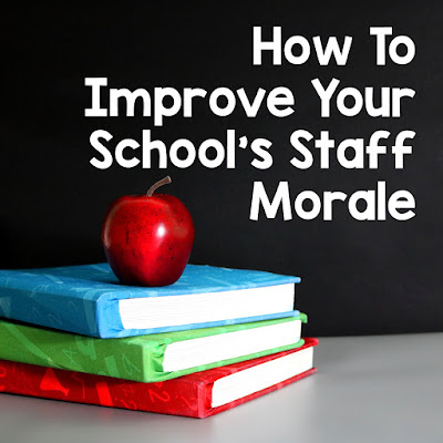 How to improve staff morale