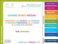 CTE - TERCERA SESIÓN - APRENDIZAJE ENTRE ESCUELAS - PRIMARIA