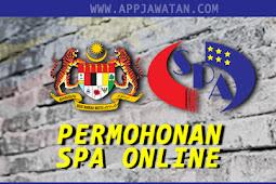 Permohonan Online Jawatan di Suruhanjaya Perkhidmatan Awam (SPA8) terbuka 2019 (Update terkini)