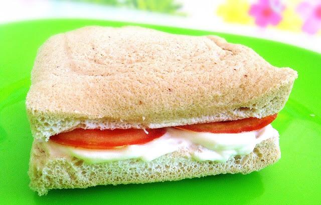sandwich sin pan