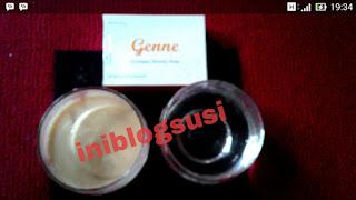 genne collagen soap, pencerah wajah, sabun kolagen, sabun awet muda