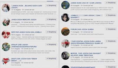 kumpulan daftar grup mencari jodoh khusus janda duda di facebook