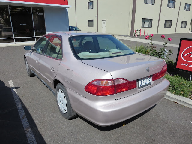 1999 Honda after complete car paint job at Almost Everything Auto Body