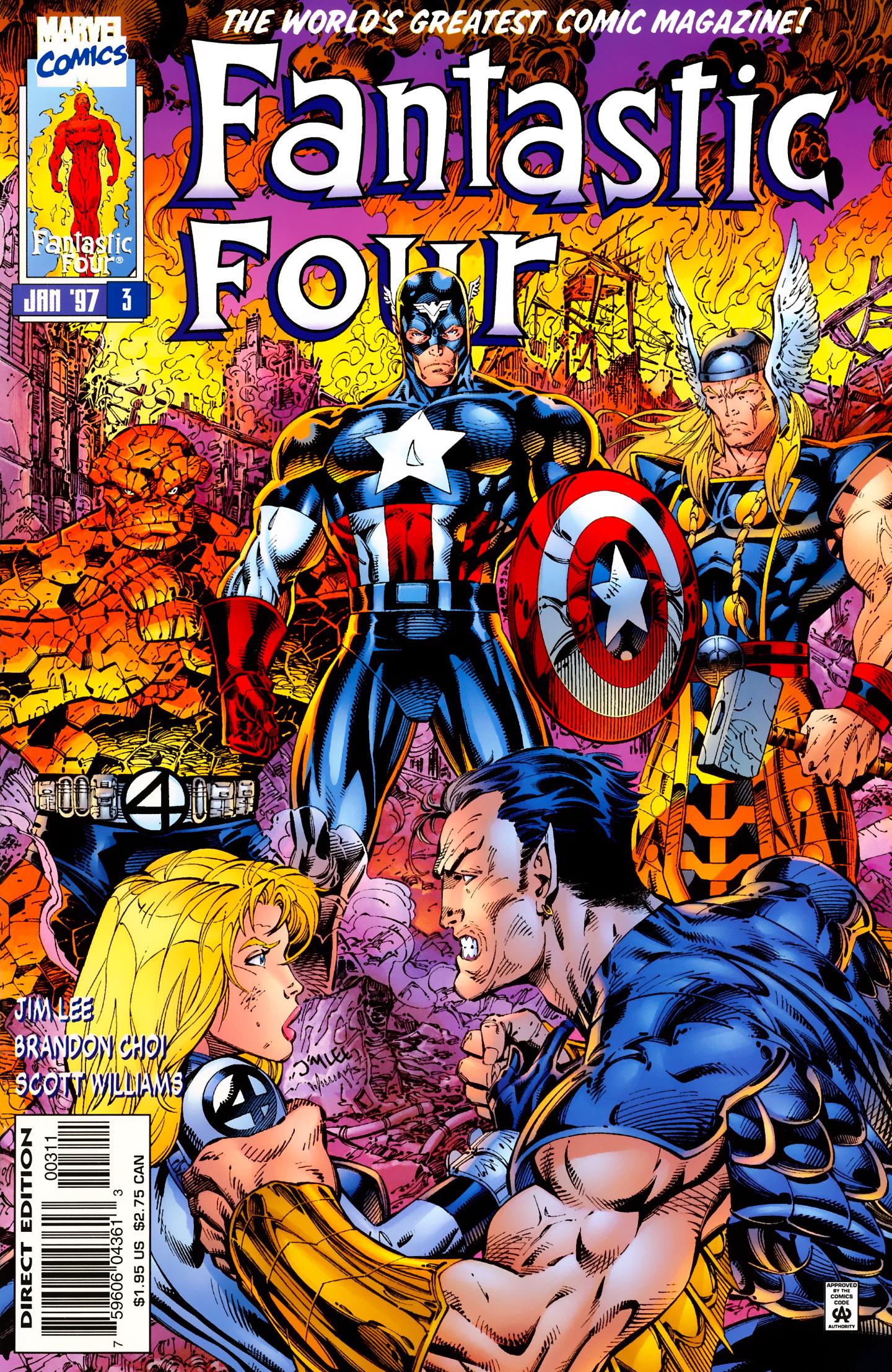 Fantastic Four (1996) 3 Page 1