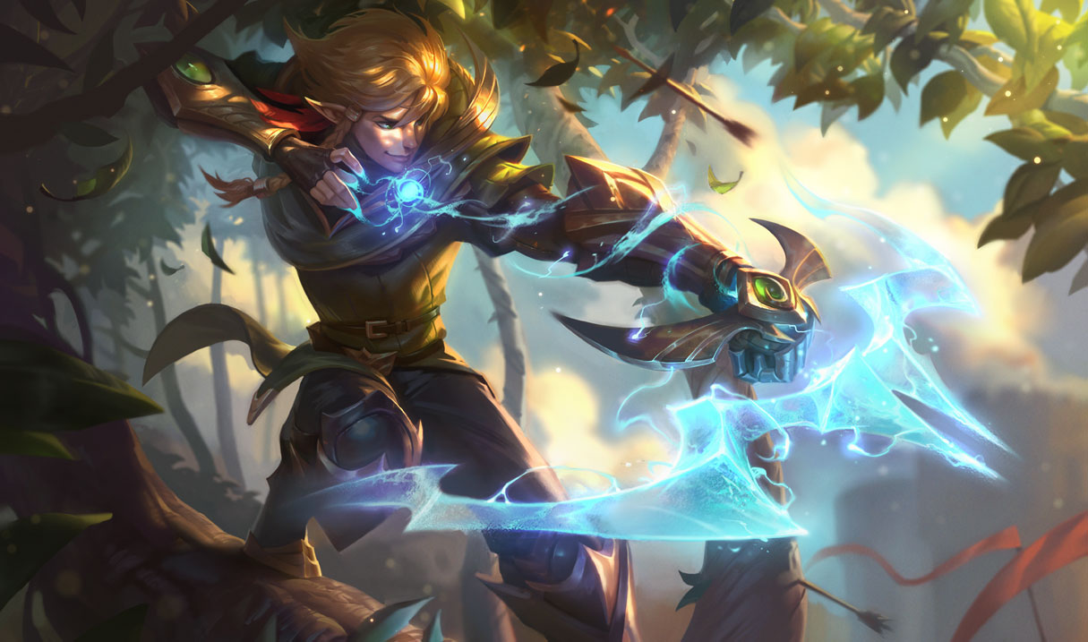 Surrender at 20: 9/26 PBE Update: Ezreal Champion Update