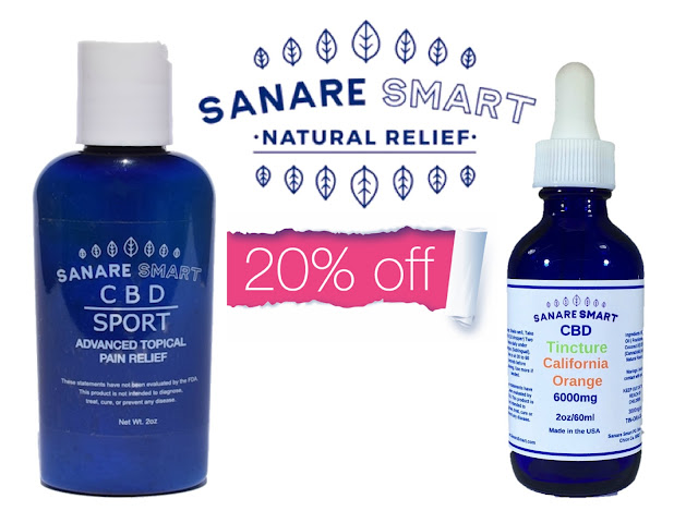 20% Discount on Sanare Smart CBD Products At Dealspotr By Barbies Beauty Bits