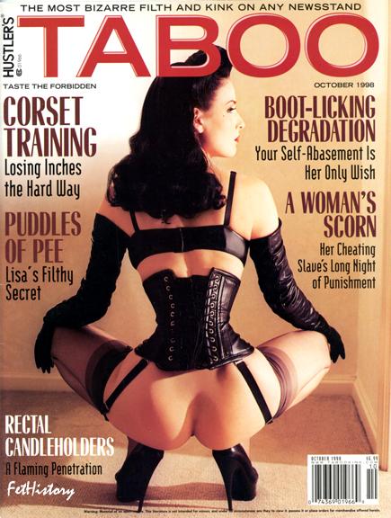 Dita Von Teese, Taboo magazine, Oct. 1998