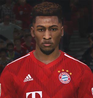 PES 2017 Faces Kingsley Coman by ABW_FaceEdit