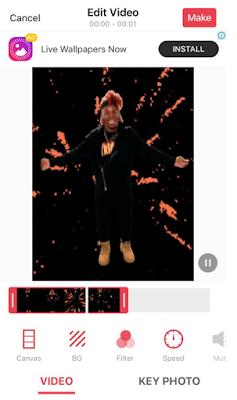 Cara membuat GIF atau wallpaper video di iPhone