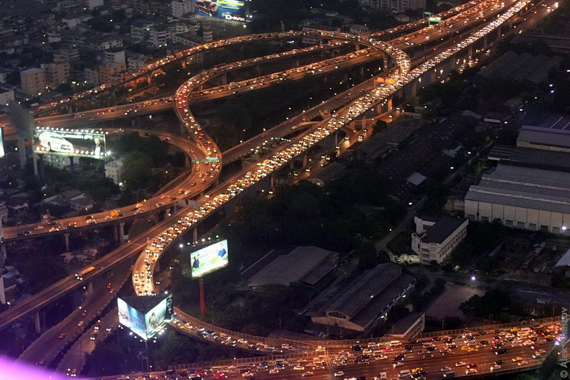 Бангкок вечером