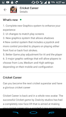 Cricket Career 24 Version Features