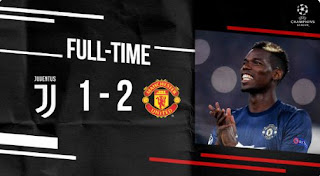 Juventus vs Manchester United 1-2 Video Gol & Full Highlights