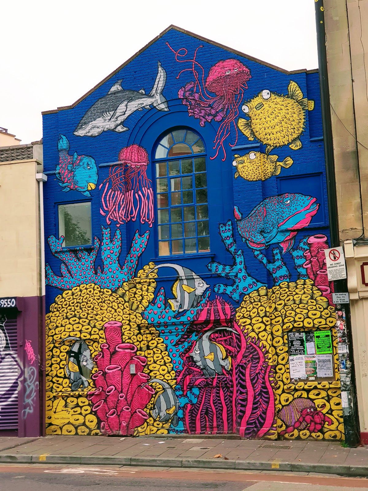 Street Art In Bristol.