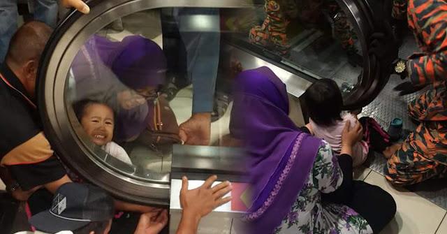 Lagi tangan kanak-kanak tersepit di Eskalator