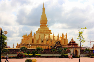 Pha That Luang Tempel