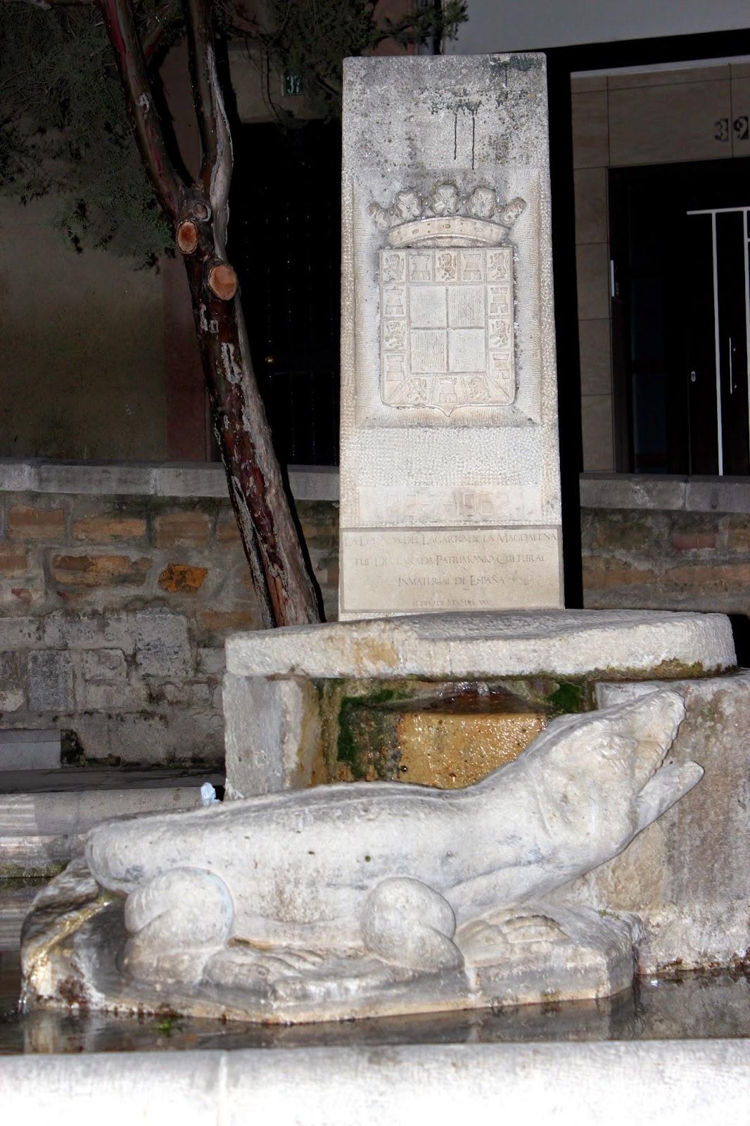 el lagarto de la Magdalena en Jaén