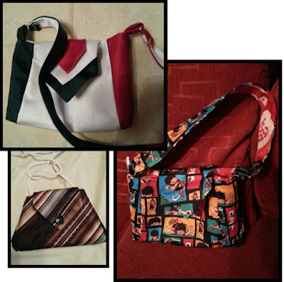 eSheep Designs' MyTie Makeover Mini Bag crafted by Lucie