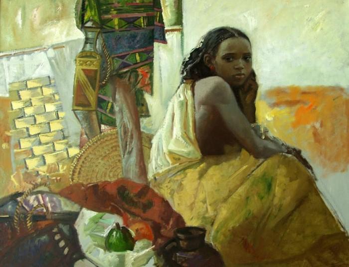 Teasfay Atcbekha Negga. Современный эфиопский художник 7