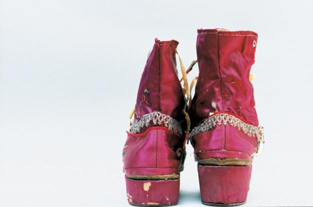 Sapatos usados por Frida Kahlo