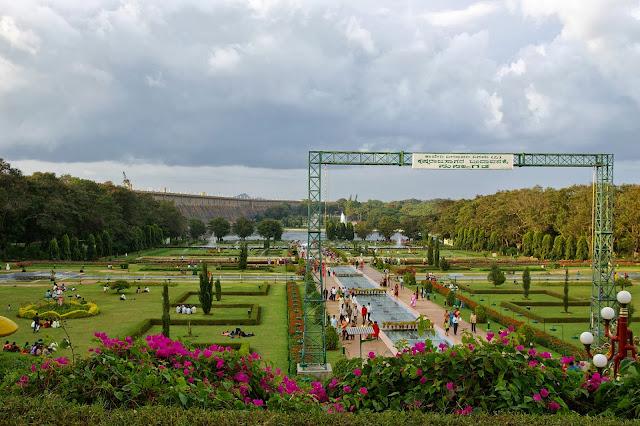 Golden Chariot Brindavan Gardens