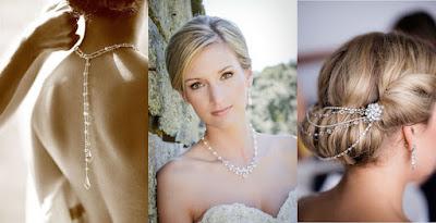 idee, collana, sposa, gioielli, tendenze