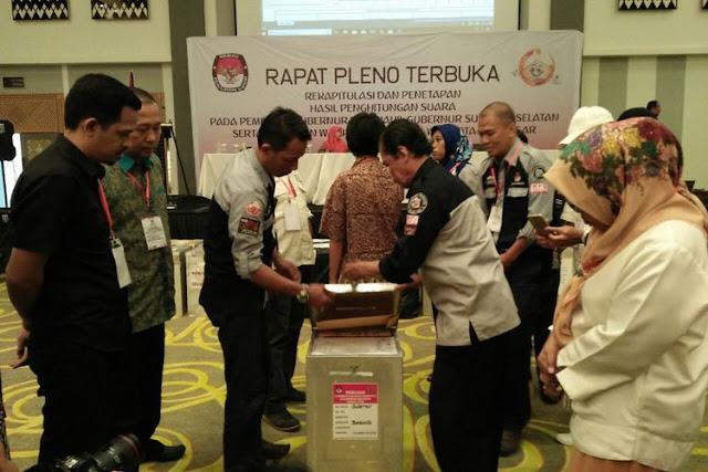 Resmi, KPU Tetapkan Kotak Kosong Sebagai Pemenang Pilkada Makassar 2018