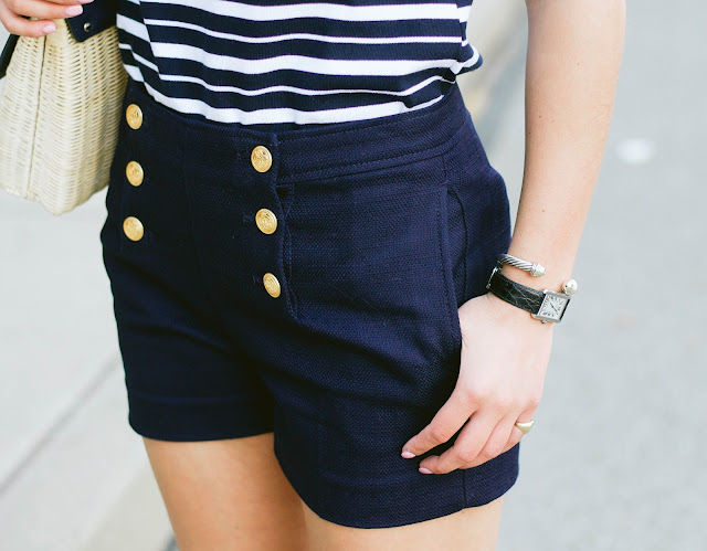 banana republic sailor short