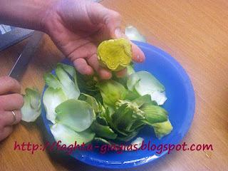 Αγκινάρες - πως τις καθαρίζουμε - από «Τα φαγητά της γιαγιάς»