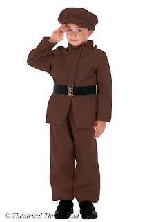Tommy Atkins WWI Soldier Kids Costume from Theatrical Threads Ltd