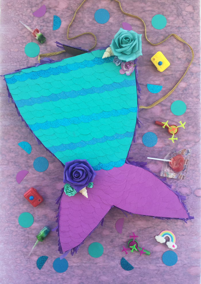 Valentina Vaguada: Piñata, mermaid piñata, mermaid birthday, sirena, party, party time