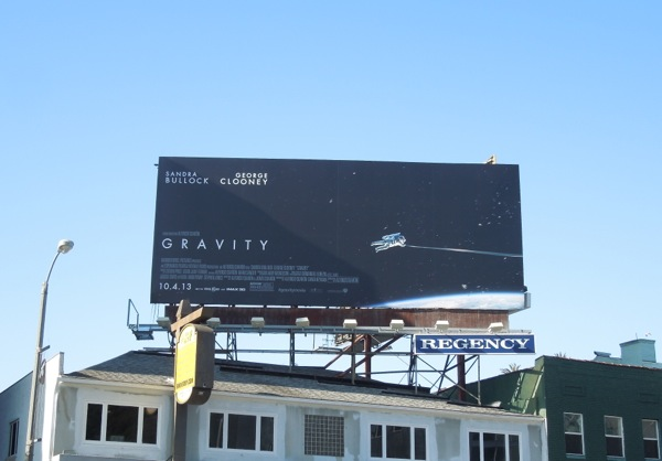 Gravity film billboard