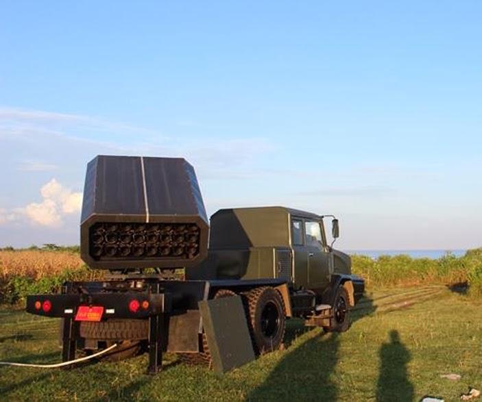 Taktis (Rantis) 5 ton 6x6 Peluncur Roket